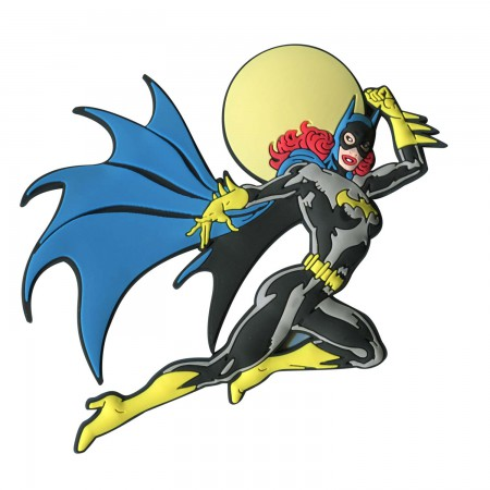 Batman Batgirl Rubber Mega Magnet