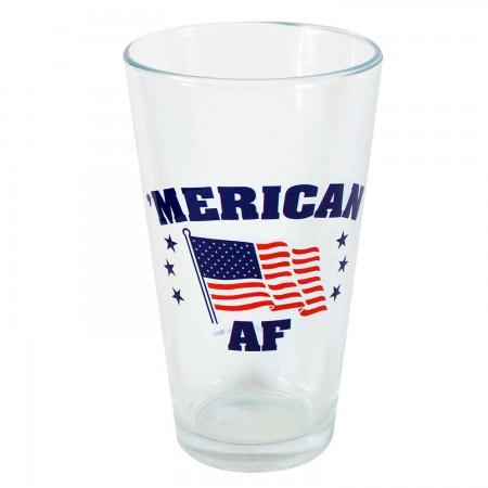 'Merican AF Patriotic Pint Glass