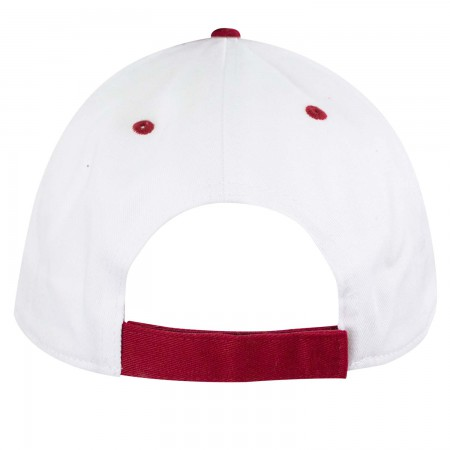 Mickey Mouse Classic Pose White Adjustable Hat