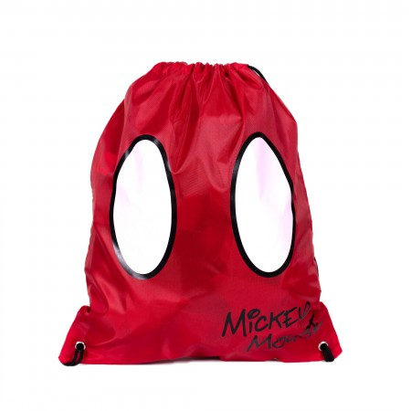 Mickey Mouse Costume Shorts Drawstring Bag
