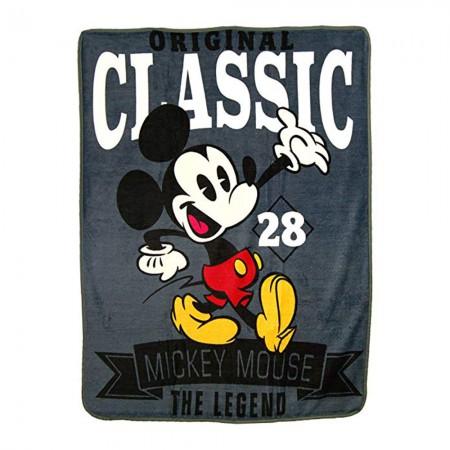 Mickey Mouse The Legend Fleece Blanket