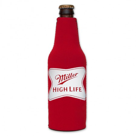 Miller High Life Logo Bottle SuitCooler - Red}