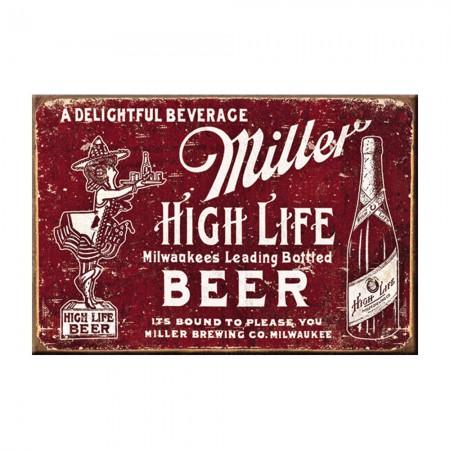 Miller High Life Vintage Logo Magnet