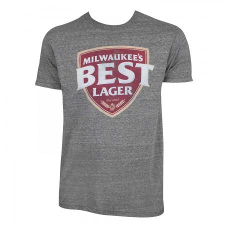 Milwaukee's Best Men's Grey Lager T-Shirt