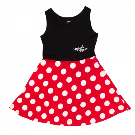 Minnie Mouse Red Polka Dot Youth Dress