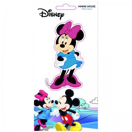 Disney Minnie Mouse Glitter Decal Sticker