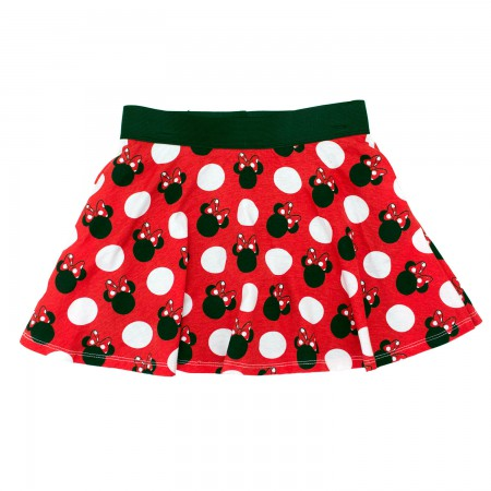 Minnie Mouse Classic Youth Girls 7-16 Disney Skirt Shorts
