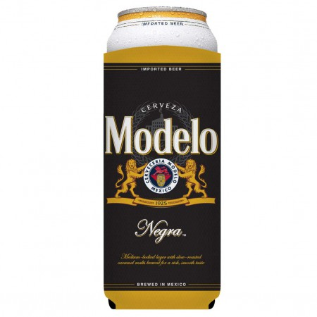 Modelo Negra 24oz Black Can Cooler