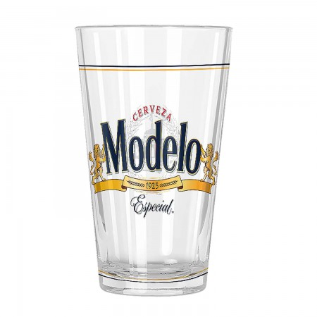 Modelo Especial Beer Pint Glass