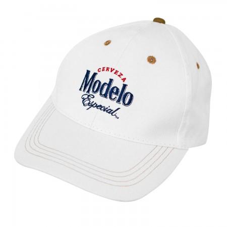 Modelo Beer White Hat