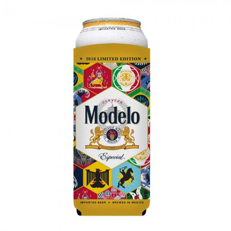 Modelo Soccer 24oz Can Cooler