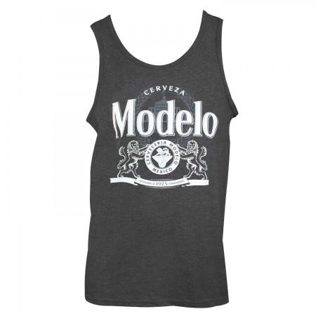 Modelo Men's Charcoal Tank Top