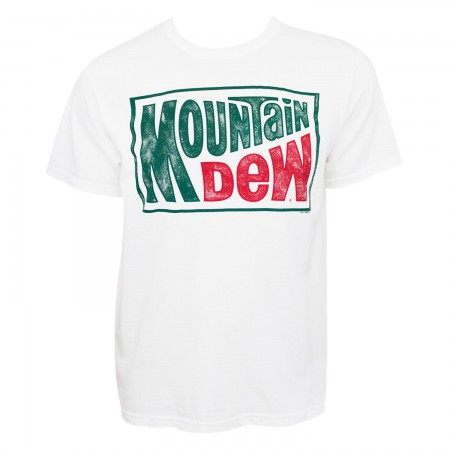 Mountain Dew White Tee Shirt