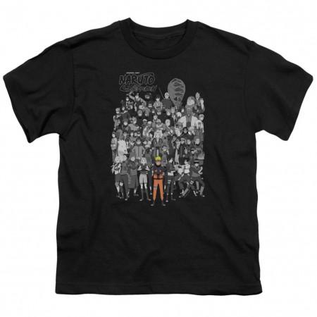 Naruto Characters Youth Tshirt