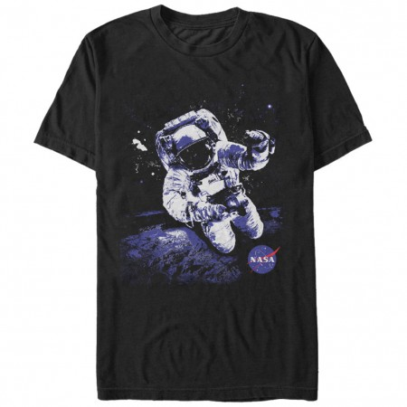 NASA Astronaut Men's Black T-Shirt