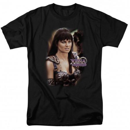 Xena Warrior Princess Black T-Shirt