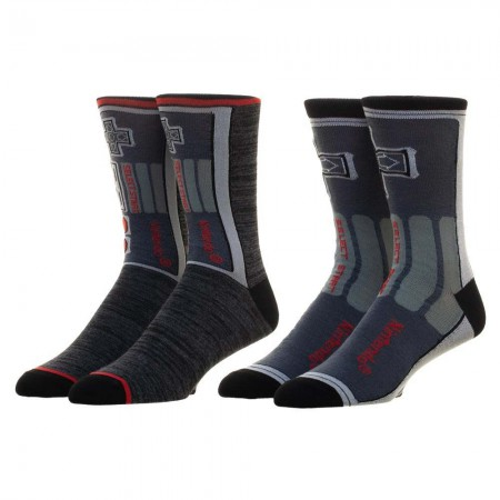 Ninetendo Black NES Socks 2 Pair Pack