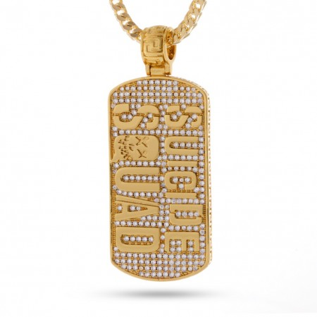 Suicide Squad Gold Dog Tag
