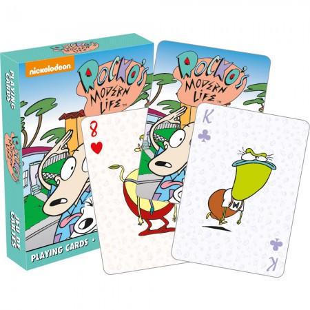 Nickelodeon Rocko's Modern Life Cartoon Playing Cards