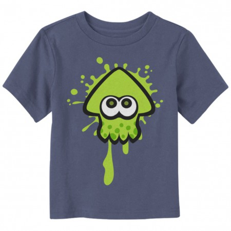 Splatoon Green Team Toddlers Tshirt