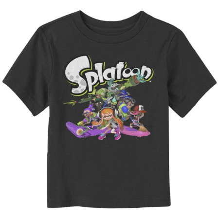 Splatoon Cast Toddlers Tshirt