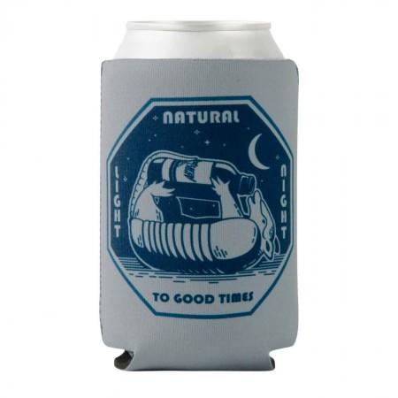 Natural Light To Good Times Rowdy Gentleman Beer Cooler Sleeve