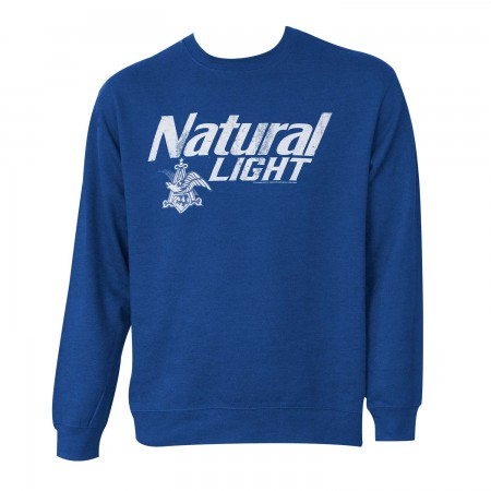 Natty Light Crew Neck Sweatshirt}