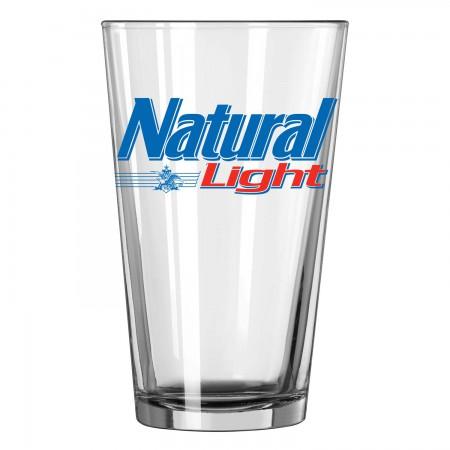 Natural Light Logo Pint Glass