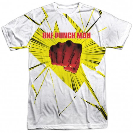 One Punch Man Shattered Tshirt