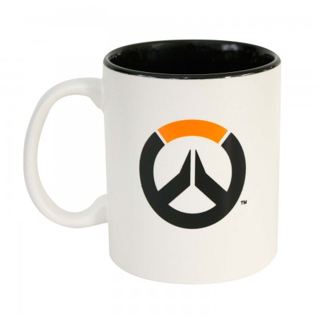 Overwatch White Coffee Mug