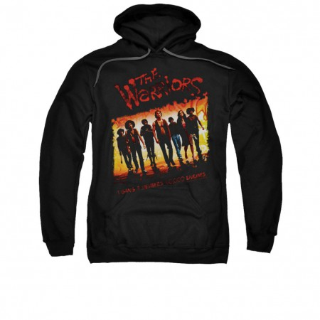 The Warriors One Gang Black Pullover Hoodie