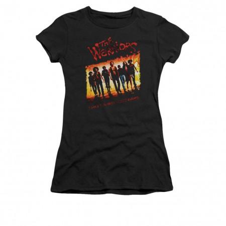 The Warriors One Gang Black Juniors T-Shirt