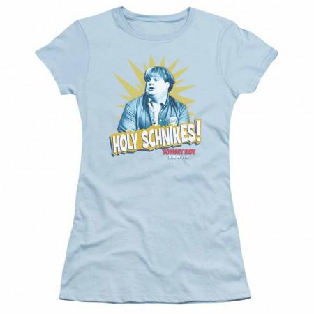 Tommy Boy Holy Schikes Blue Juniors T-Shirt