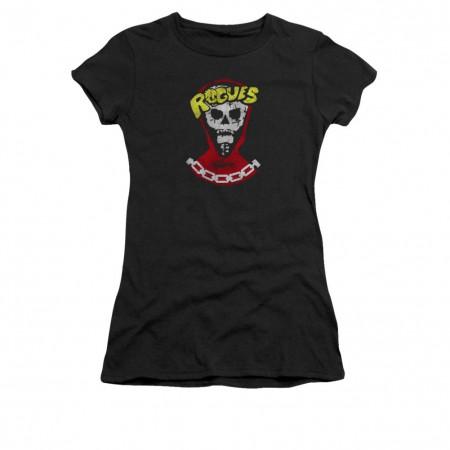 The Warriors Rogues Black Juniors T-Shirt