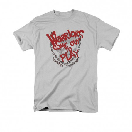 The Warriors Come Out And Play Gray T-Shirt