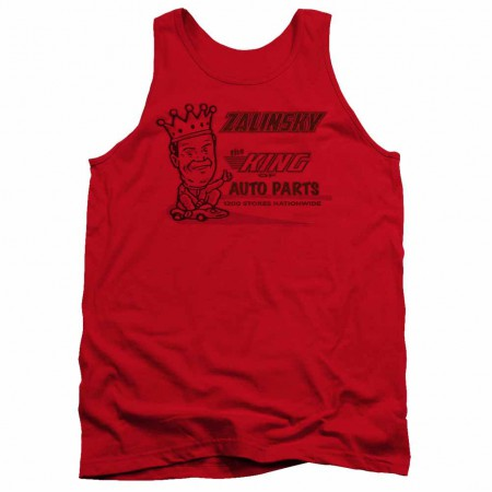 Tommy Boy Zalinsky Auto Red Tank Top