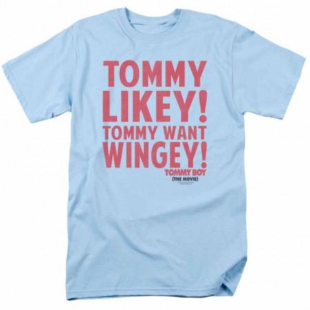 Tommy Boy Want Wingey Blue T-Shirt