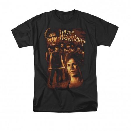 The Warriors Nine Members Black T-Shirt