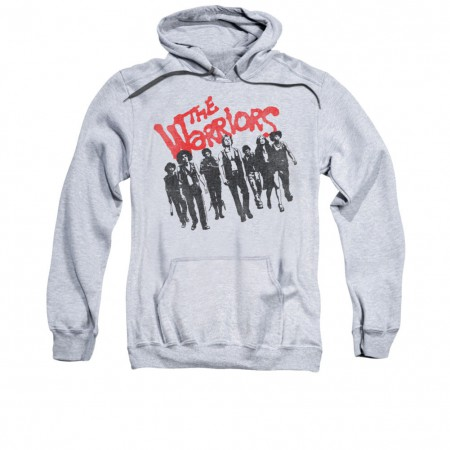 The Warriors Nine Gray Pullover Hoodie