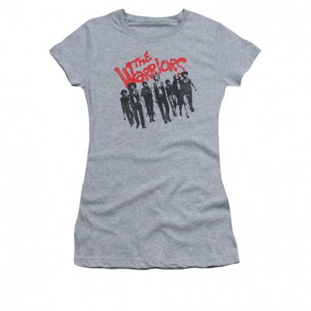 The Warriors Gang Gray Juniors T-Shirt
