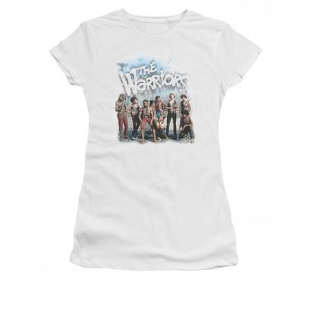 The Warriors Amusement White Juniors T-Shirt
