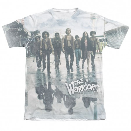 The Warriors Strolling Sublimation T-Shirt