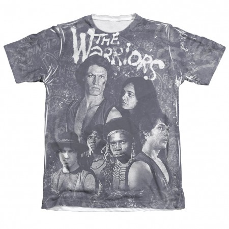 The Warriors Moody Streets Sublimation T-Shirt