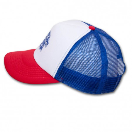 Pabst Blue Ribbon (PBR) Trucker Hat - Red, White & Blue