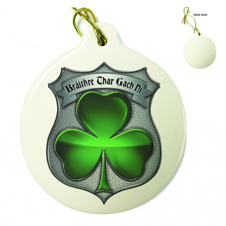 Policeman's Brotherhood Irish Porcelain Ornament