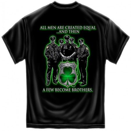 Irish Police Brotherhood Patriotic TShirt