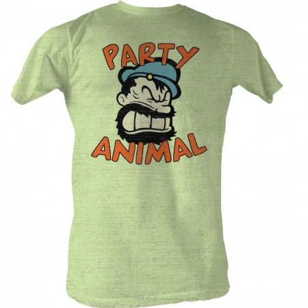 Popeye Partay Animal T-Shirt
