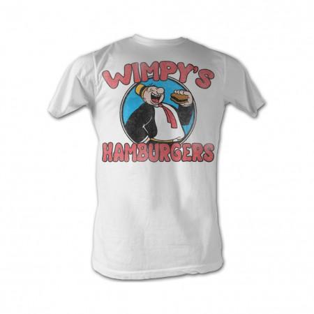 Popeye Wimpys Burgers T-Shirt