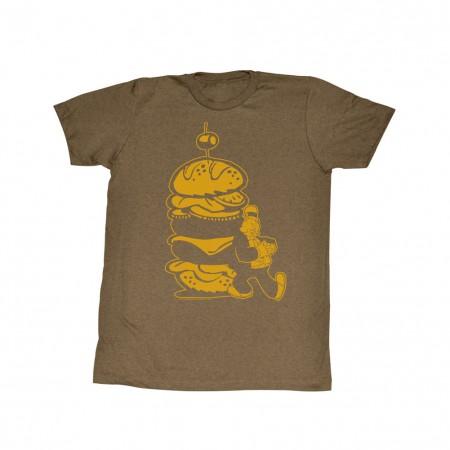 Popeye Burger For The Boy T-Shirt