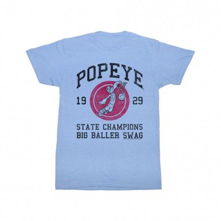 Popeye Big Baller Swing T-Shirt